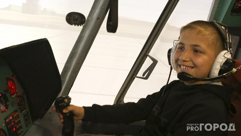 10-летнего мальчика, который спас тонущего друга в Марий Эл, наградили полетом на Ми-8