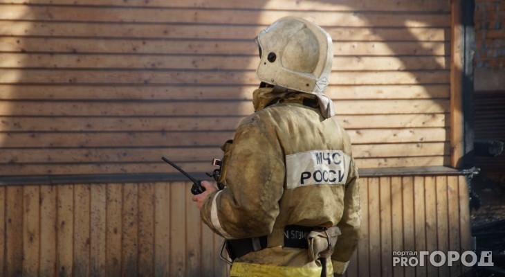 В Марий Эл за неделю пожарные спасли 24 человек