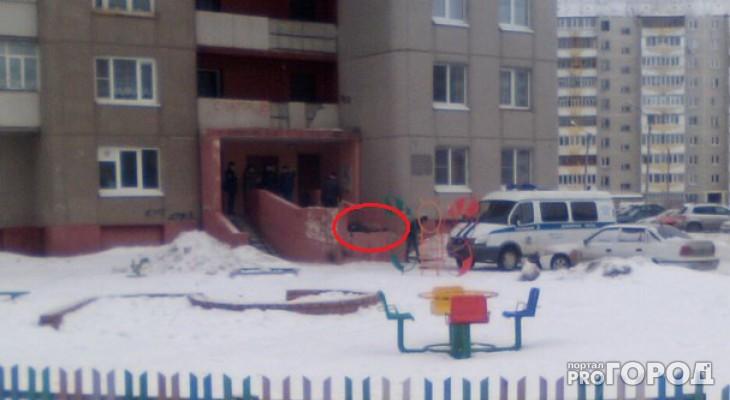 В Йошкар-Оле с многоэтажки выпал мужчина
