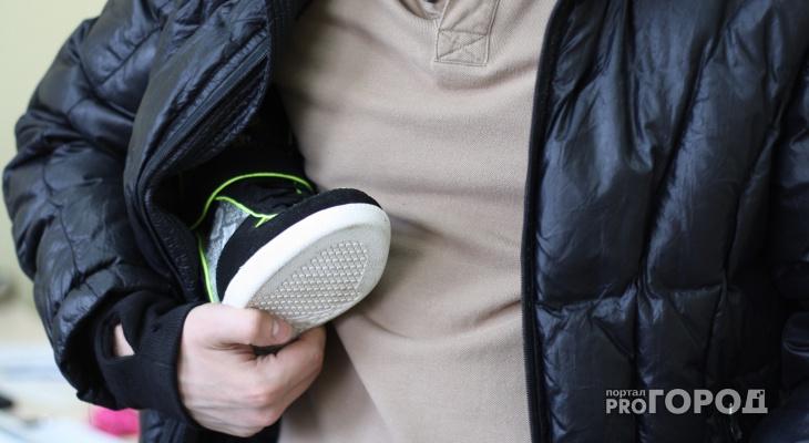 В Марий Эл неизвестные крадут кроссовки за 600 рублей