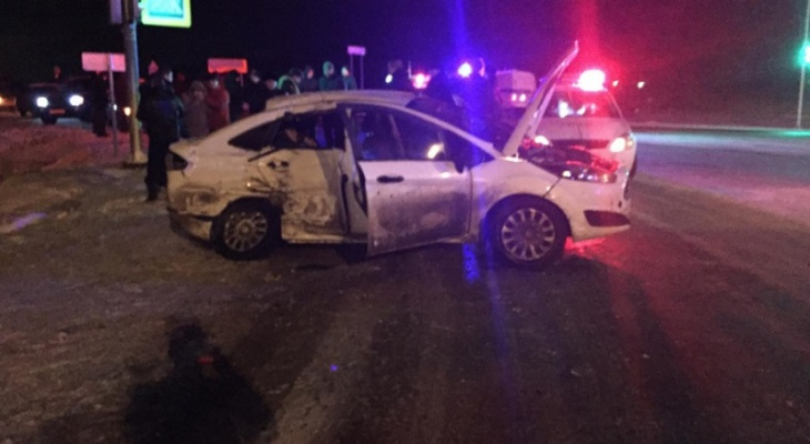 В Марий Эл две пассажирки иномарки погибли из-за неуступчивости водителя