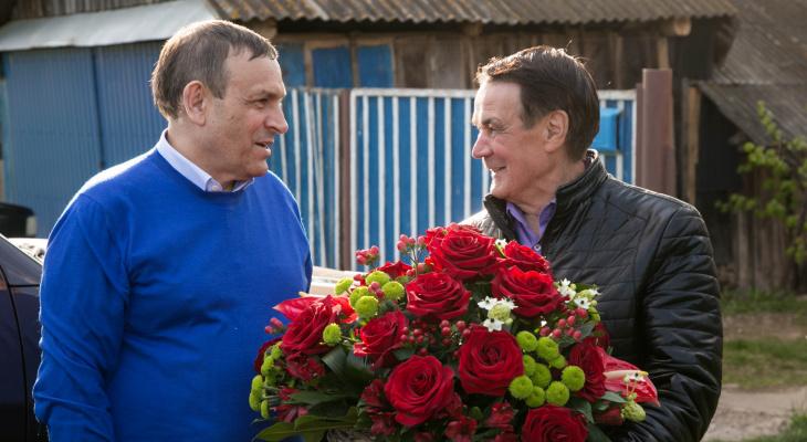 Александр Евстифеев поздравил с юбилеем первого президента Марий Эл