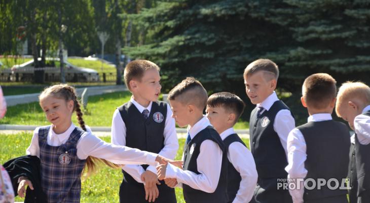 Йошкар-олинские школьники рассказали о первом дне учебы
