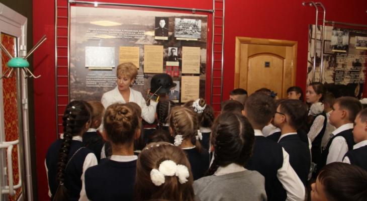 Йошкар-олинские школьники посетили музей МВД