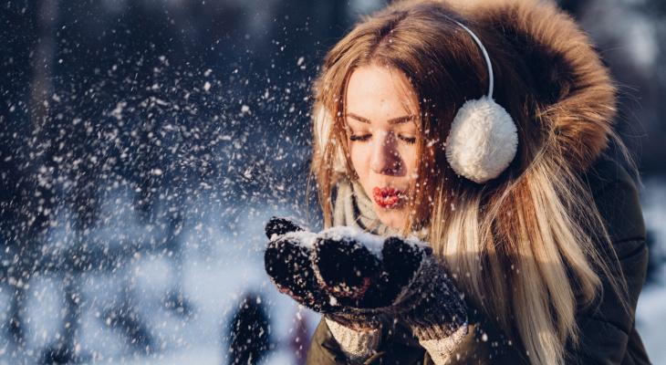 Зима в Йошкар-Оле: сегодня весь день будет идти снег