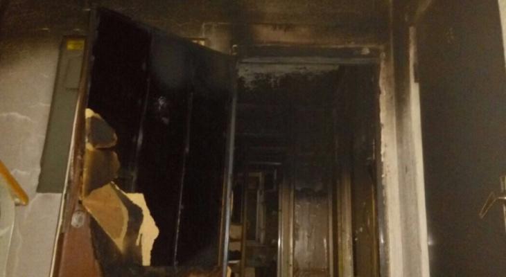 Стала известна причина пожара в йошкар-олинской квартире, где погас свет и повалил дым