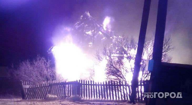 В Марий Эл поджигают дома за карточный проигрыш