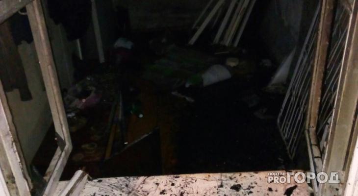В Йошкар-Оле курящий мужчина скончался после пожара
