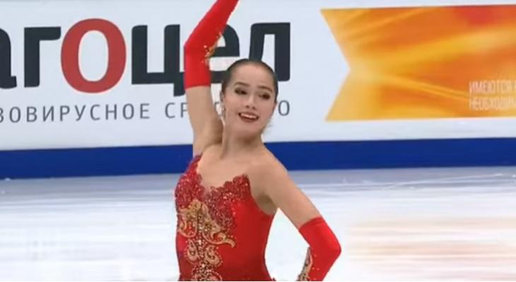 Фигуристка Алина Загитова принесла России первое золото Олимпиады