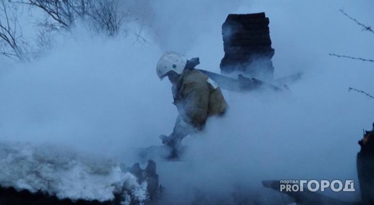 В одном из районов Марий Эл за выходные произошло два страшных пожара