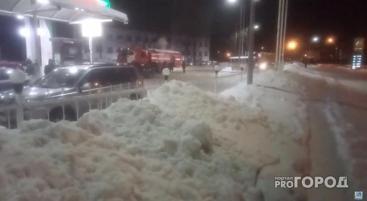 В Йошкар-Оле пожарная машина тушила сама себя
