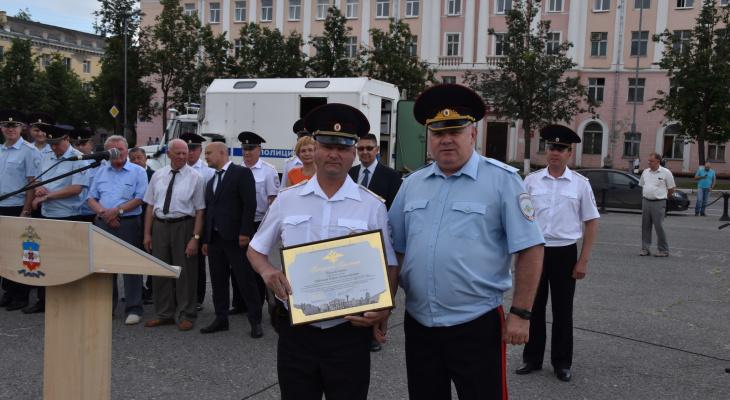 Марийские полицейские приехали из Казани с ЧМ-2018