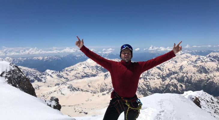 Йошкаролинец на вершине Эльбруса: Я победил сам себя