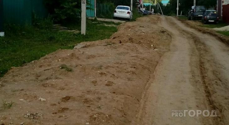 Все же раскопали: жители деревни в Марий Эл просят вернуть им дорогу