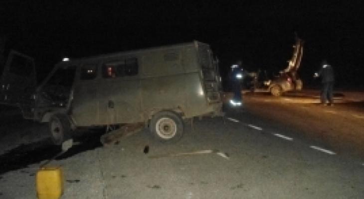 В Марий Эл в серьезном ДТП пострадали 6  человек