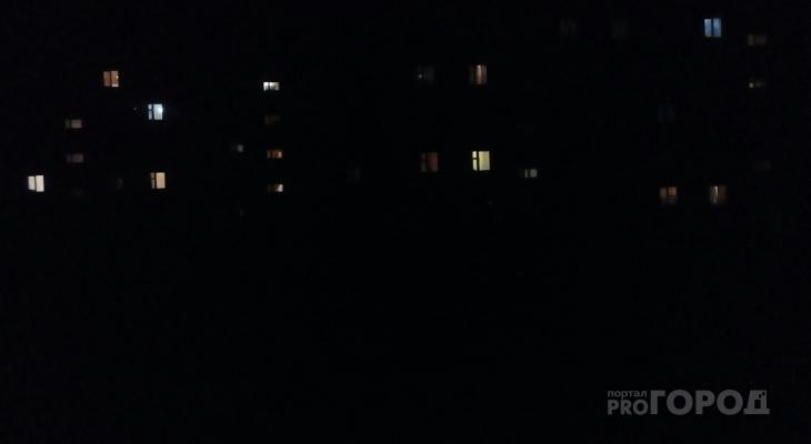 В поселке Марий Эл ночью темноту не нарушает ни один фонарь