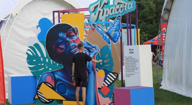 Граффити-художник из Йошкар-Олы провел мастер-класс в Петербурге