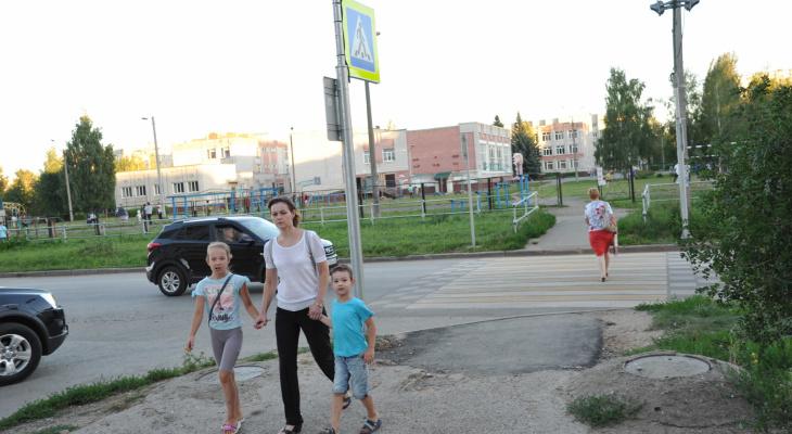 К учебному году в Йошкар-Оле оборудовано 11 пешеходных переходов