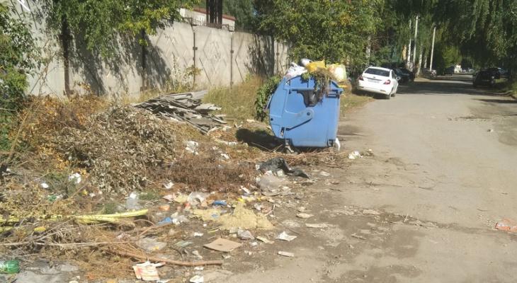Возвращение средневековья: в Йошкар-Оле помои выливают прямо улицу