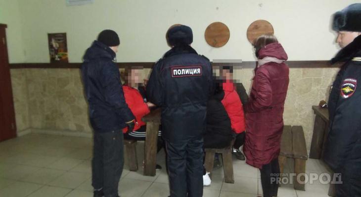 В Йошкар-Оле около десятка подростков «попались» в руки полицейским