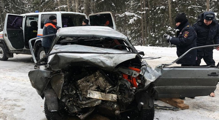 Авария на трассе Марий Эл с большегрузом унесла жизнь человека