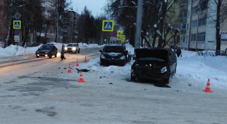 7-летний ребенок получил травмы в ДТП с DATSUN и Nissan в Йошкар-Оле