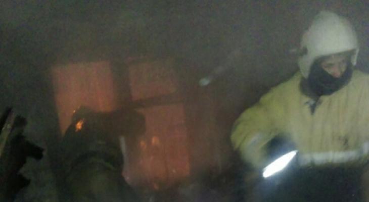 В МЧС рассказали, как удалось спасти йошкаролинцев из полыхающей квартиры