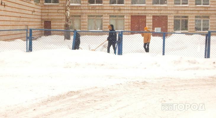 В Йошкар-Оле школьникам вместо ручек и тетрадей выдали лопаты