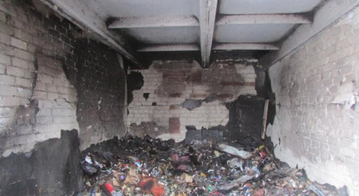 В Йошкар-Оле невыключенный обогреватель «спалил» гараж