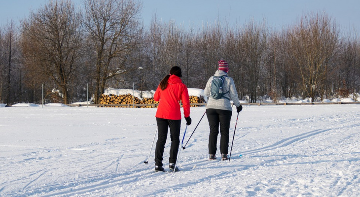 Во время лыжного забега скончался житель Марий Эл