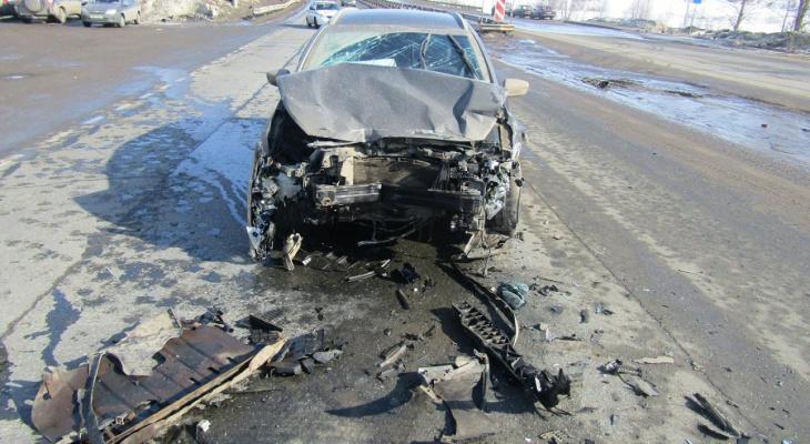 В Марий Эл невнимательность водителя привела к жертвам на трассе