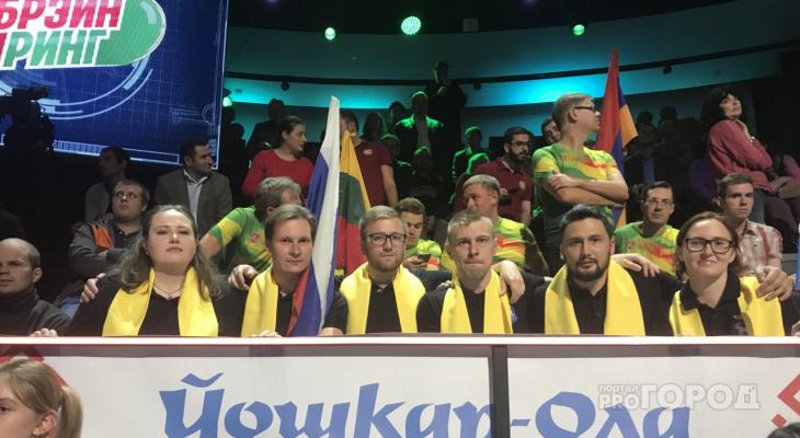 Йошкаролинцы победили в интеллектуальной игре Брэйн-ринг на федеральном канале