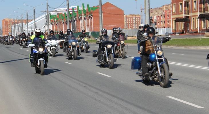 На открытие мотосезона в Йошкар-Оле приехали гости из других регионов