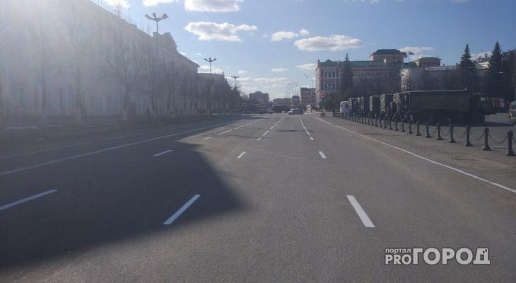 На некоторых улицах Йошкар-Олы появится новая разметка