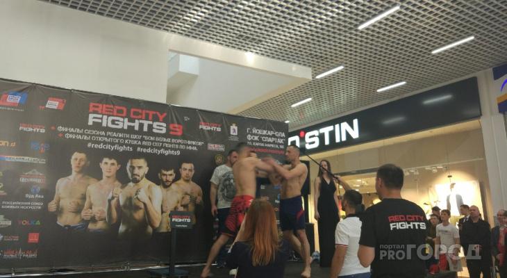 В Йошкар-Оле бойцы ММА едва не перепутали сцену с рингом
