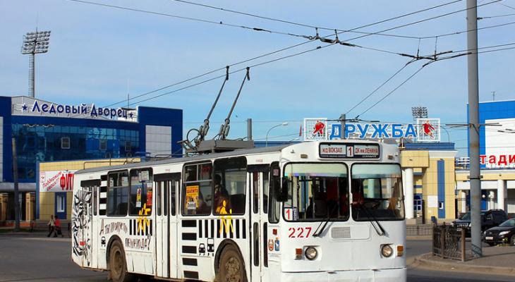 Из-за перекрытия Ленинского проспекта троллейбусы изменят свой маршрут