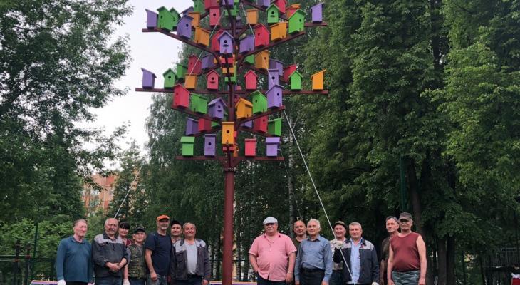 В Парке Победы Йошкар-Олы установили необычный арт-объект
