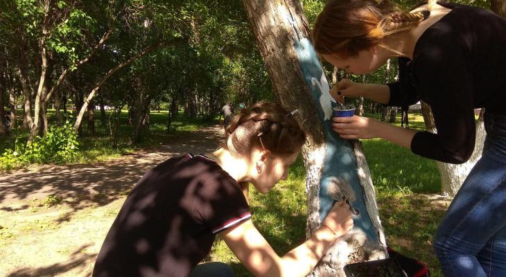 В Центральном парке Йошкар-Олы появился ученый кот и дядька Черномор