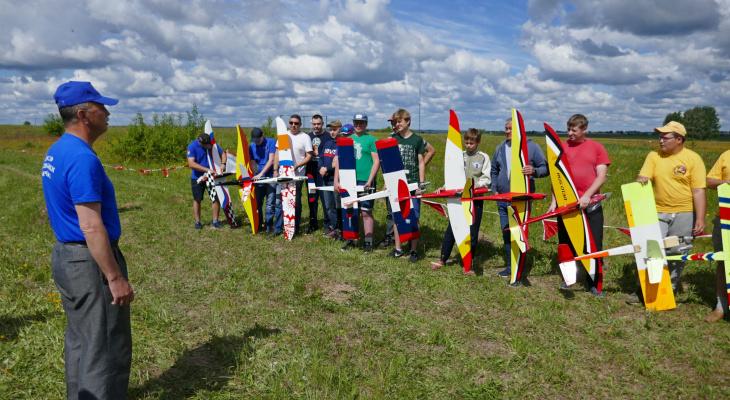 В Йошкар-Оле прошел чемпионат по авиамодельному спорту