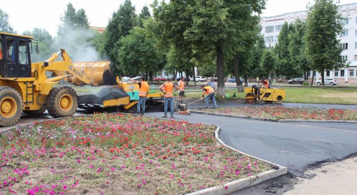 Реконструкция сквера Наты Бабушкиной: появятся велосипедные дорожки