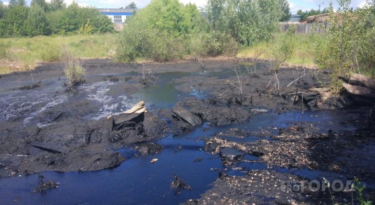 Виновники «мазутного озера» в Йошкар-Оле могут получить «уголовку»