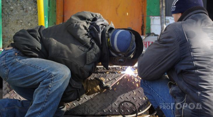 В пригороде Йошкар-Олы во время сварки погиб мужчина