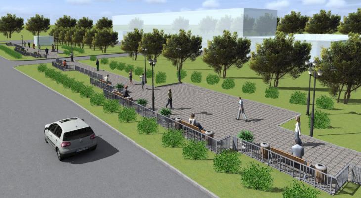 Стало известно, во сколько обойдется строительство Аллеи Победы в пригороде Йошкар-Олы