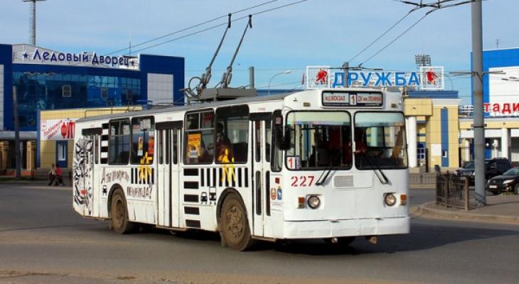 Из-за ремонта дорог изменятся несколько троллейбусных маршрутов в Йошкар-Оле