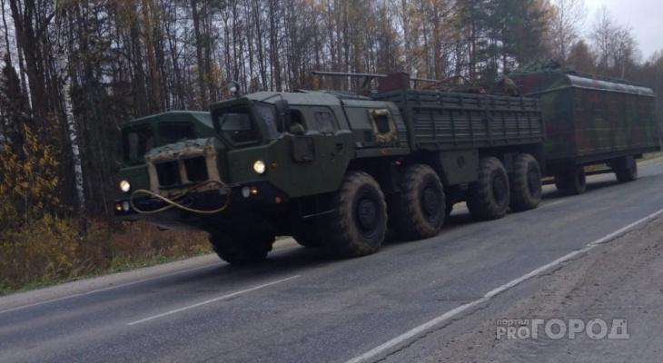 Военные очередной раз перекроют трассы в Марий Эл