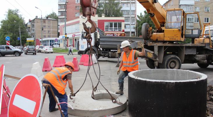 Новая технология: как проходит ремонт Первомайской в Йошкар-Оле