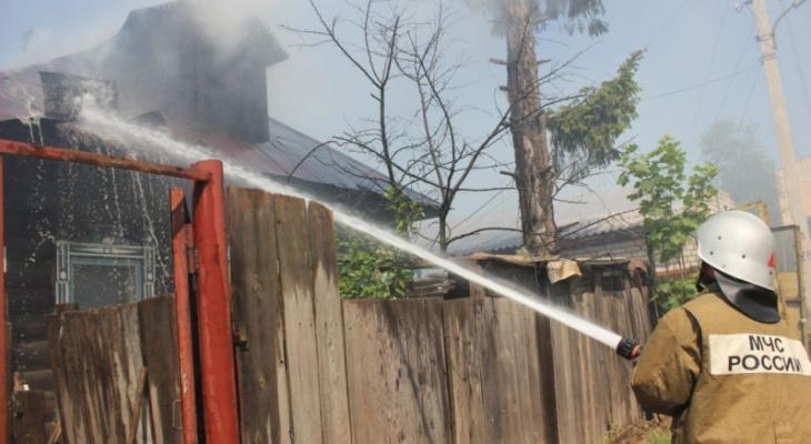 Обгоревшую в пожаре жительницу Марий Эл спас сын