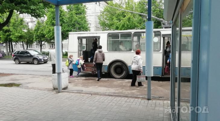В Йошкар-Оле троллейбусы на один день изменят свой маршрут