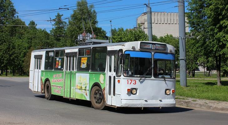 Сегодня троллейбусы в Йошкар-Оле изменят свой маршрут