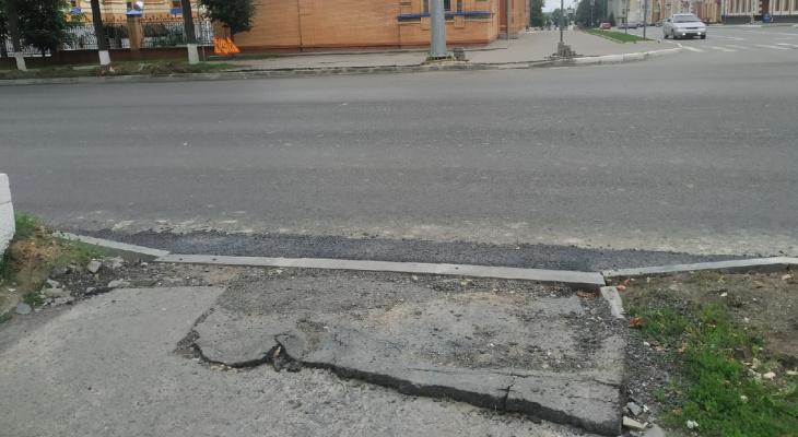 Общественник про ремонт дорог в Йошкар-Оле: «С одной стороны лечат, а с другой калечат»
